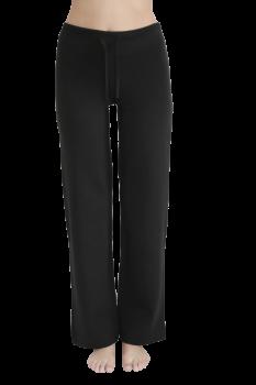 Albero dámské teplákové kalhoty z biobavlny - černá