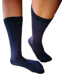 Ponožky z biobavlny - tmavě modrá
