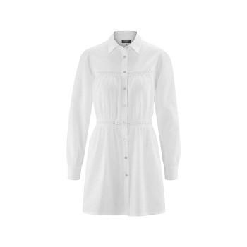 KATHARINA dámský košilový top ze 100% biobavlny - bílá