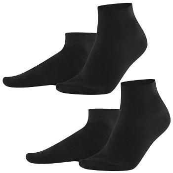 CURT pánské ponožky z biobavlny - černá (2 páry)