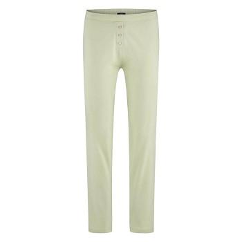 CAROL dámské pyžamové kalhoty ze 100% biobavlny - přírodní milky green