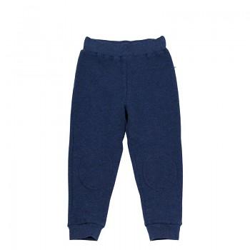 PIQUÉ dětské kalhoty ze 100% biobavlny - tmavě modrá indigo
