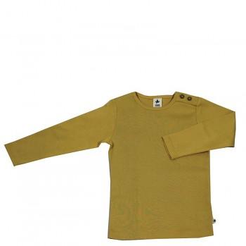 LANG dětské tričko ze 100% biobavlny - okrová