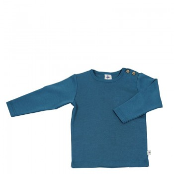 LANG dětské tričko ze 100% biobavlny - modrá donau