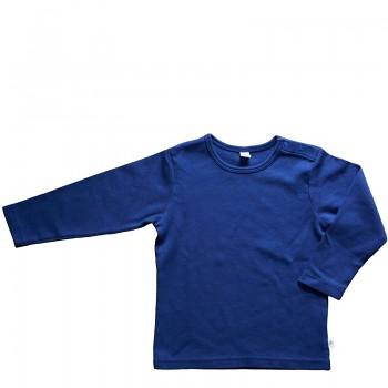LANG dětské tričko ze 100% biobavlny - tmavě modrá navy