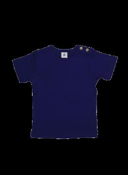 KURZ dětské tričko ze 100% biobavlny -  tmavě modrá
