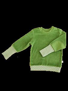 WESERSTRAND dětská mikinka ze 100% biobavlny - lesní zelená