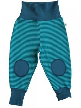 RINGEL ASSOS kojenecké kalhoty ze 100% biobavlny - modrá donau/lapis
