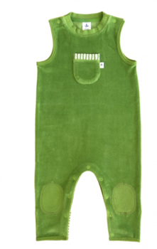 Kojenecké dupačky ze 100% biobavlny - lesní zelená