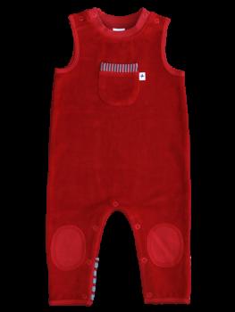 Kojenecké dupačky ze 100% biobavlny - cihlově červená