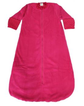 WENDE ISFAHAN oboustranný kojenecký spací vak ze 100% biobavlny - červená