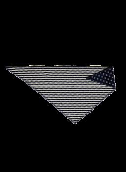 NICKY ZYPERN dětský šátek ze 100% biobavlny - tmavě modrá