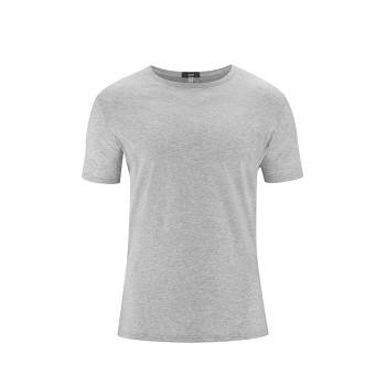 FABIAN Pánské tričko s krátkými rukávy ze 100% biobavlny - šedá stone (2 kusy)