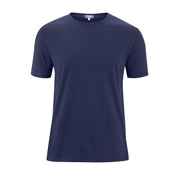 FABIAN Pánské tričko s krátkými rukávy ze 100% biobavlny - tmavě modrá navy (2 kusy)