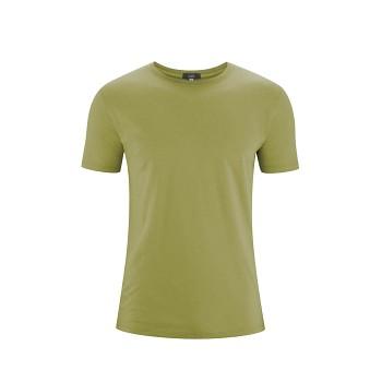 ILKO Pánské tričko s krátkými rukávy ze 100% biobavlny - zelená fern