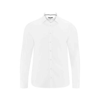 KAY pánská košile ze 100% biobavlny - bílá