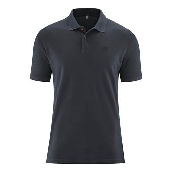 KENLEY pánské košilové triko z bambusu a biobavlny - tmavě modrá ink