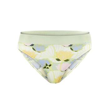 KAYA dámské kalhotky z biobavlny - květinový potisk lotus