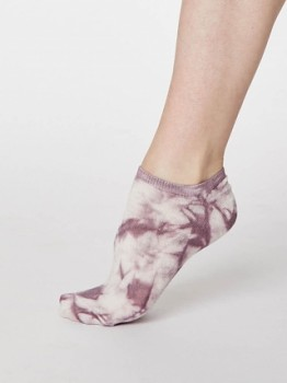 DYE dámské kotníkové ponožky z bambusu a biobavlny