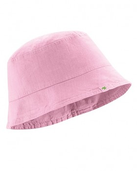FISCHERHUT klobouk z konopí a biobavlny - růžová rose