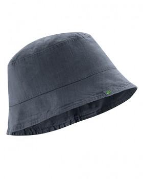 FISCHERHUT klobouk z konopí a biobavlny - tmavě šedá dark