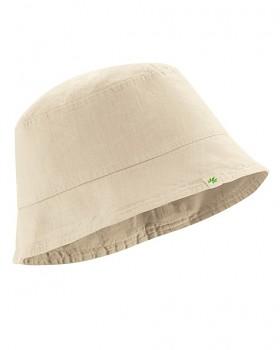FISCHERHUT klobouk z konopí a biobavlny - béžová gobi
