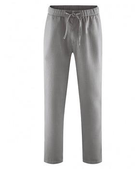 TRUEHEMP unisex kalhoty ze 100% konopí - šedohnědá taupe