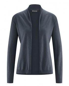 STRICK dámský svetr z konopí a biobavlny - tmavě šedá dark
