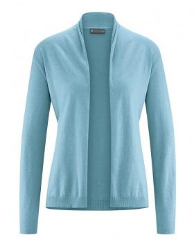 STRICK dámský svetr z konopí a biobavlny - modrá wave