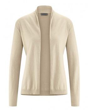 STRICK dámský svetr z konopí a biobavlny - béžová gobi
