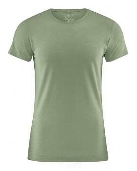 OTTO pánské tričko z biobavlny a konopí - zelená cactus