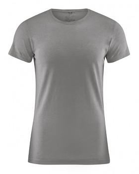 OTTO pánské tričko z biobavlny a konopí - šedá taupe