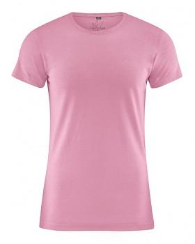 OTTO pánské tričko z biobavlny a konopí - růžová rose