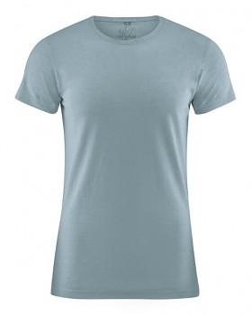 OTTO pánské tričko z biobavlny a konopí - modrošedá aloe