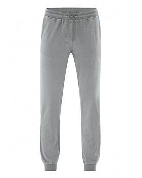 JOGG pánské jogingové kalhoty z konopí a biobavlny - šedá rock