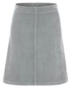COURTNEY dámská sukně z konopí a biobavlny - světle šedá rock