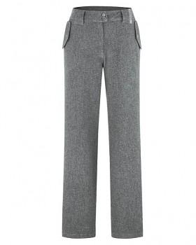 CAITLIN dámské kalhoty z konopí a biobavlny - šedá rock
