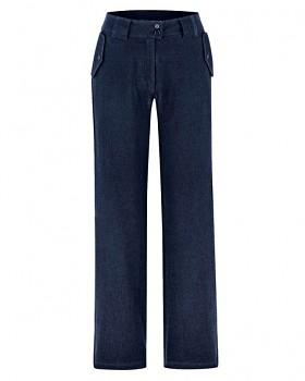 CAITLIN dámské kalhoty z konopí a biobavlny - tmavě modrá navy
