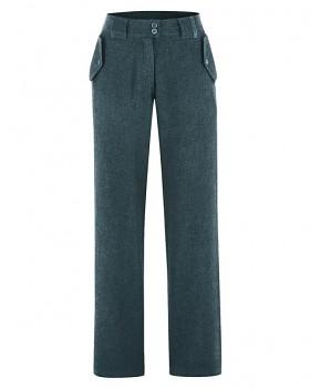 CAITLIN dámské kalhoty z konopí a biobavlny - zelená deep