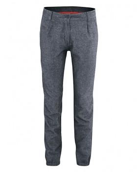 HEIKE dámské kalhoty z biobavlny a konopí - tmavě modrá wintersky
