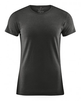 OTTO pánské tričko z biobavlny a konopí - černá