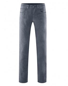 ALVIN pánské kalhoty z konopí a biobavlny - tmavě šedá dark