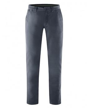 LAWSON pánské kalhoty z biobavlny a konopí - tmavě šedá dark
