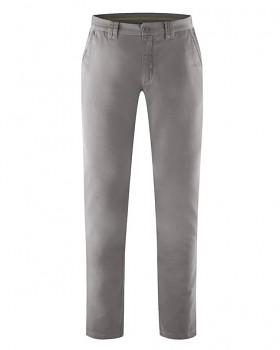 LAWSON pánské kalhoty z biobavlny a konopí - šedohnědá taupe