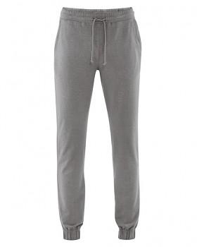 JOGG pánské jogingové kalhoty z konopí a biobavlny - šedá taupe