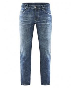 STERLING pánské džíny z konopí a biobavlny - modrá laser