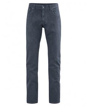 JEROME pánské džíny z konopí a biobavlny - tmavě šedá dark