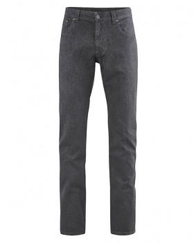 JEROME pánské džíny z konopí a biobavlny - tmavě šedá antracit