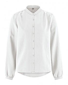 ALIVIA dámská košile z konopí a biobavlny - bílá