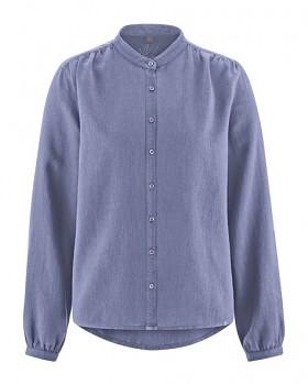 ALIVIA dámská košile z konopí a biobavlny - fialová lavender